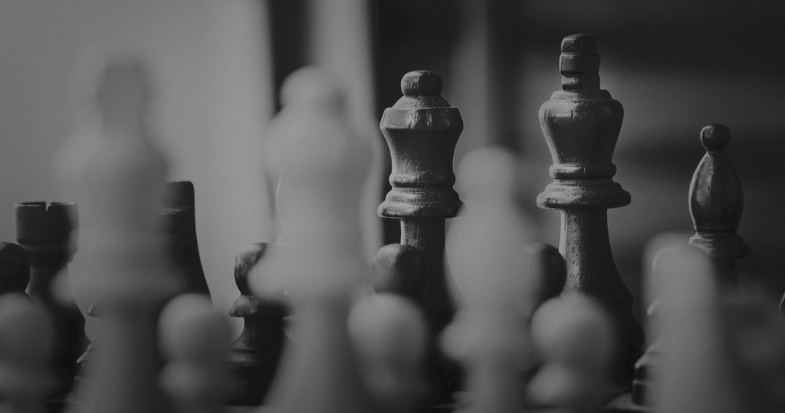 People Gameplan Chess Pawn Monochrome